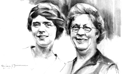 Sadie Ralston and Dorothy Ralston Manchester